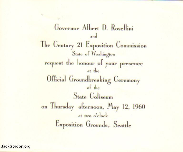 Groundbreaking Ceremony Invitation Sample – Ceremony Invitation Template